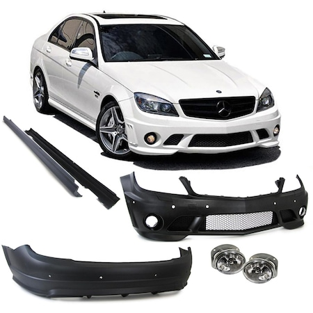 Mercedes C Oto Body Kit - Oto Modifiye - n11 com