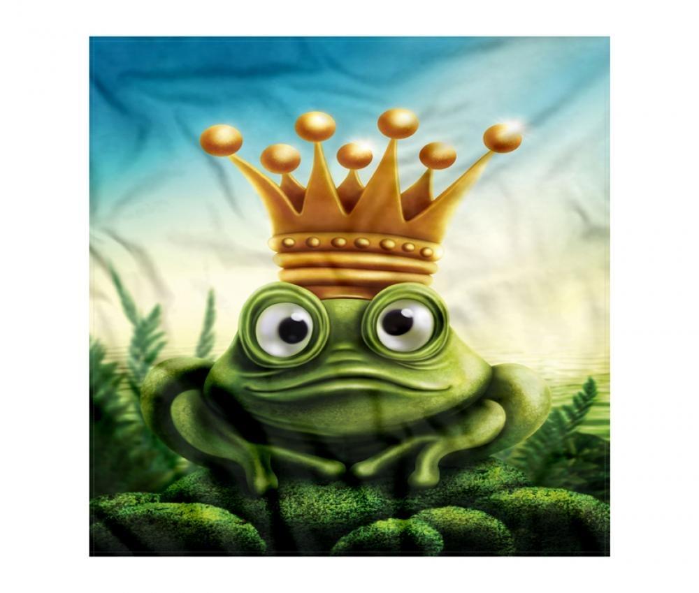 Yeşil Kurbağa Prens Bandana Fular Orange Venue N11com