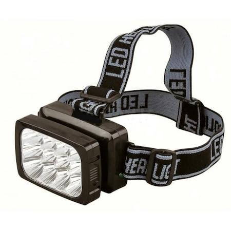 12 Ledli Şarjlı Kafa Feneri Lambası 2 Kademeli Yüksek Işık Verir Fiyatları  ve Özellikleri