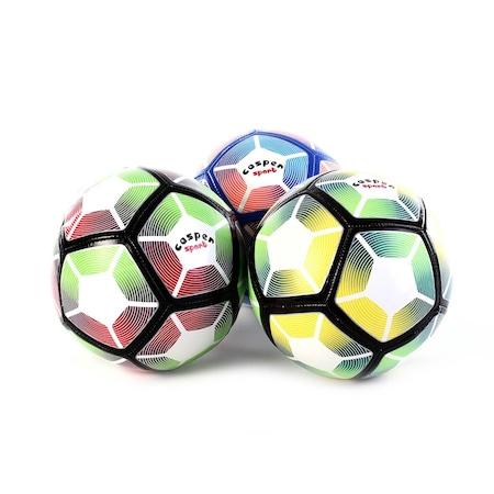 Can Sport Fb5pc28 Dikisli Futbol Topu Renkli