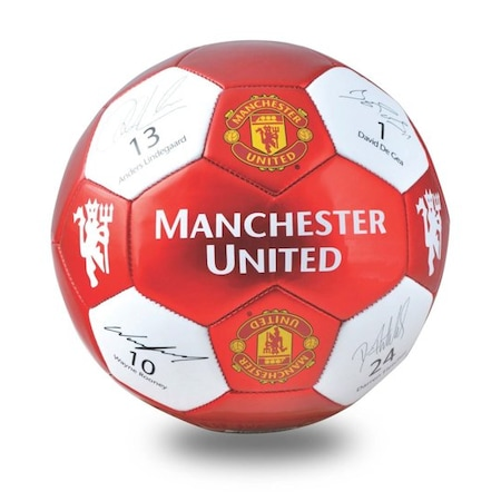 Manchester United White Red Futbol Topu N5 N11com