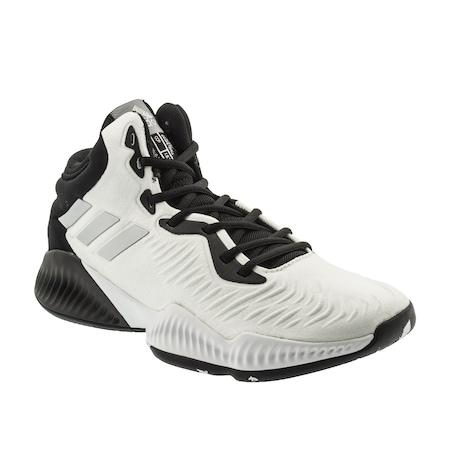 e7637c32c950 Adidas Mad Bounce 2018 Erkek Beyaz Basketbol Ayakkabısı (b41873 ...
