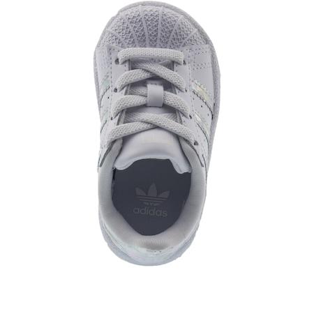 adidas Superstar EL Bebek Beyaz Spor Ayakkabi (CG6707)