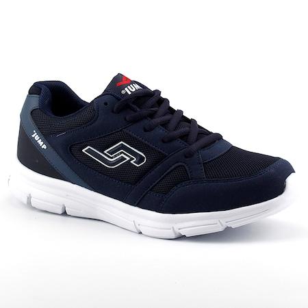 Jump 10555 Lacivert Günlük Yürüyüş Koşu Erkek Spor Ayakkabı