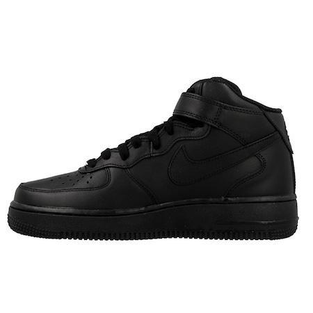 best website a5a9c 15c5e Nike Air Force 1 Mid Kadın Deri Ayakkabı 366731-B001