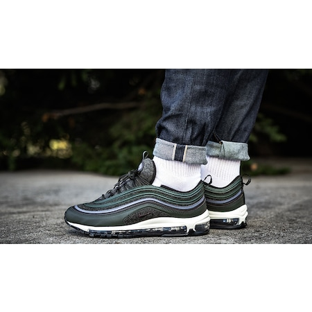 Nike Women's Air Max 97 (Black White) KicksUSA