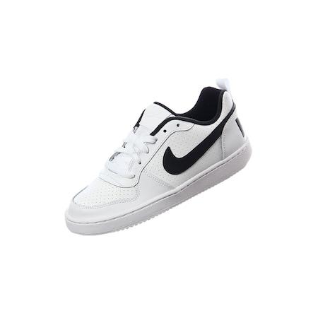 Nike COURT BOROUGH LOW (GS) Unisex Spor Ayakkabı Beyaz