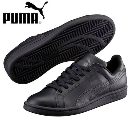 Puma Smash FUN L Jr Kadın Siyah Spor