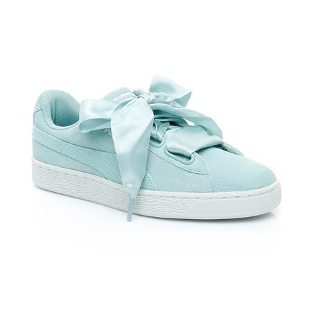 Puma Suede Heart Pebble Kadın Mavi Sneaker