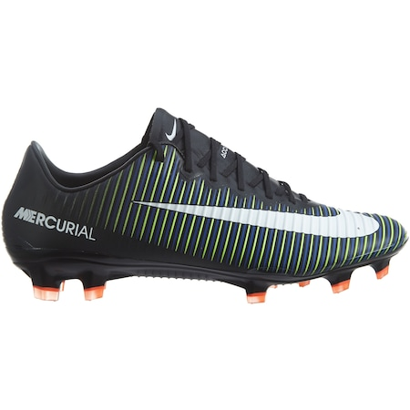 Nike Mercurial Vapor Xi Fg Black White-electric Green 831958-013 ... 79b306909b