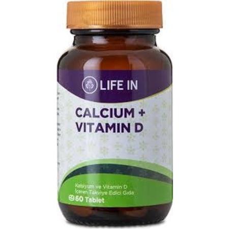 Life In Kalsiyum D Vitamini Tablet Fiyatlari Ve Ozellikleri