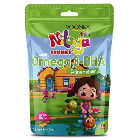 Voonka Kids Niloya Gummies Omega3-DHA 60 Adet-SKT:11/2020