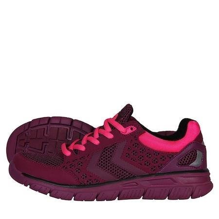 Hummel Crosslite Bordo Kadın Koşu Spor Ayakkabısı