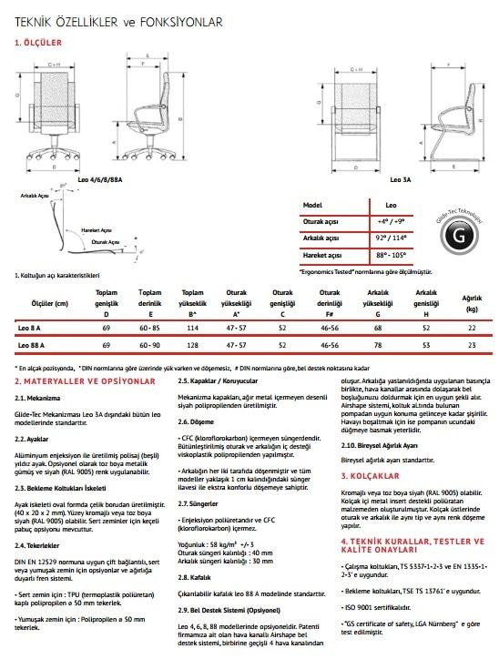 Grammer Office Leo 88A-AIR Shape 10