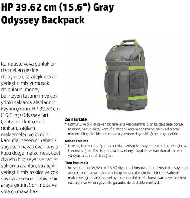 d833bff7b96de Hp Odyssey 15.6