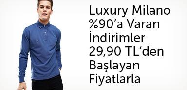Luxury Milano %90'a Varan Büyük Sezon İndirimi - 29,90 TL'den Başlayan Fiyatlarla - n11.com