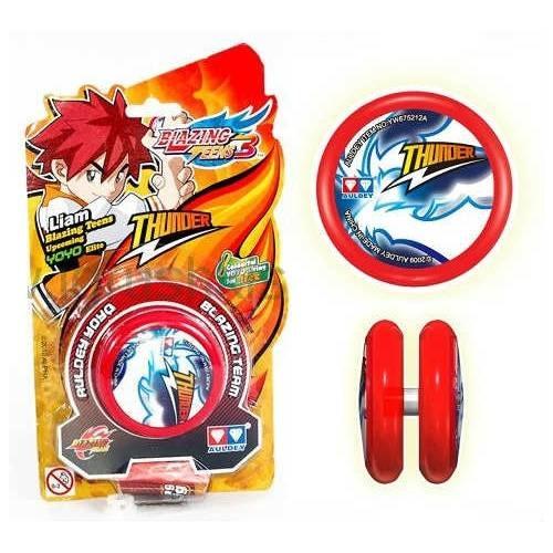 3 Super Liams Version C Auldey Flame Tiger Blazing Teens Dus Mainan Yoyo Ages 8 Merah