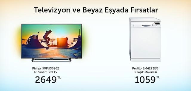 Televizyon ve Beyaz Eşyada Fırsatlar - n11.com