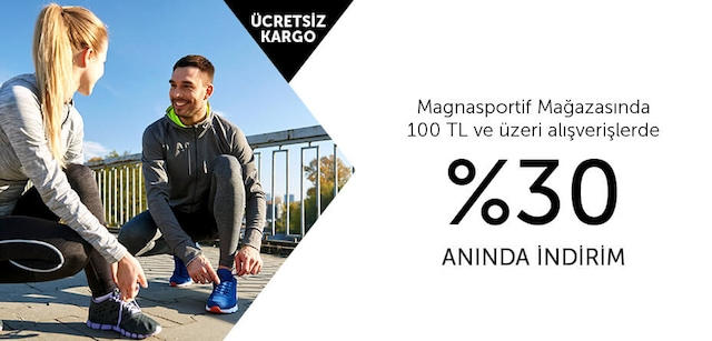 Magnasportif %30 Anında İndirim