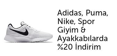 Adidas, Nike, Puma %20'a Varan İndirimler - n11.com