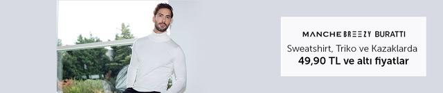 Markastok Triko, Kazak ve Sweatshirtlerde 49,90 TL Altı Fiyatlar - n11.com