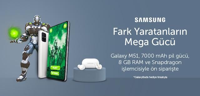 Galaxy M51 Kampanyası - n11.com