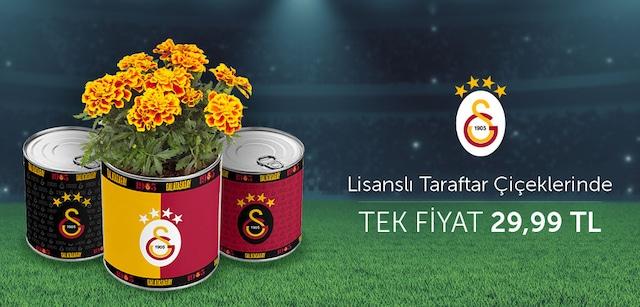 Galatasaray Lisanslı Taraftar Çiçeklerinde Tek Fiyat 29.99 TL - n11.com