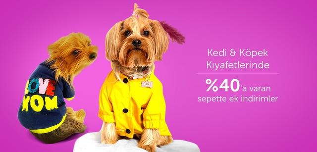 Kedi&Köpek Kıyafetlerinde %40'a Varan Sepette Ek İndirim - n11.com