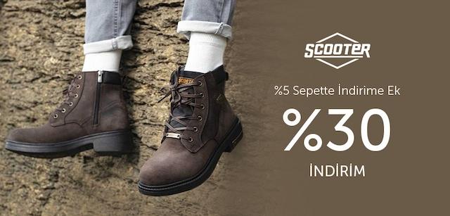 Scooter Sepette %35 Ek İndirim