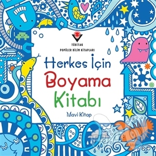 Herkes Için Boyama Kitabı Mavi Kitap N11com