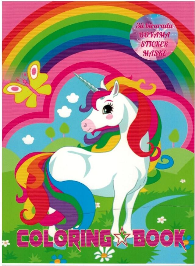 My Little Pony Boyama Kitabı Sticker Maske Süper 3 Lü N11com