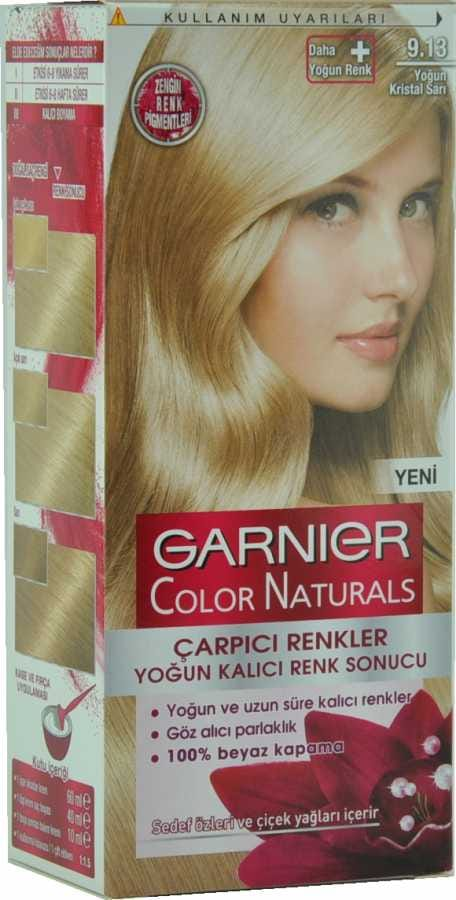 Garnier Color Naturals 80 Parlak Koyu Sarı Krem Saç Boyası N11com