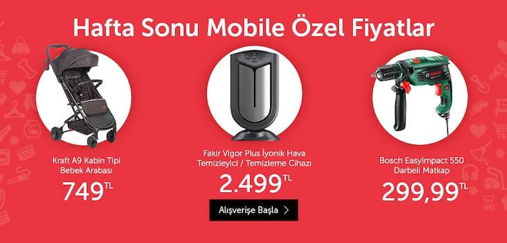 Mobile Özel Ürünler Promosyonu