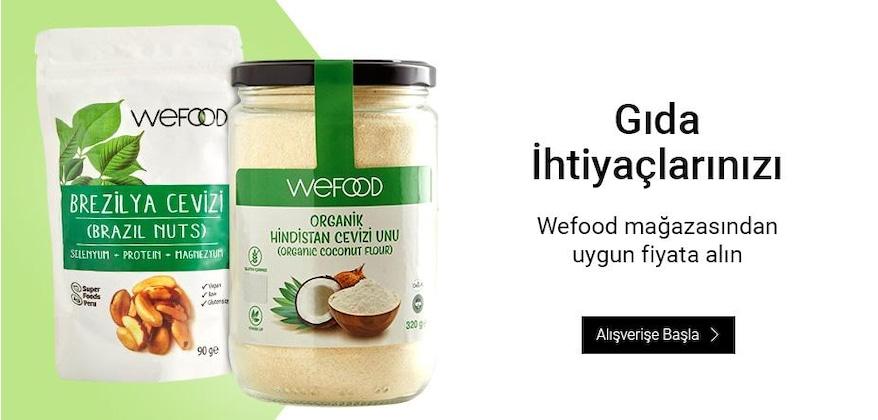 Avantajlı Wefood Ürünleri