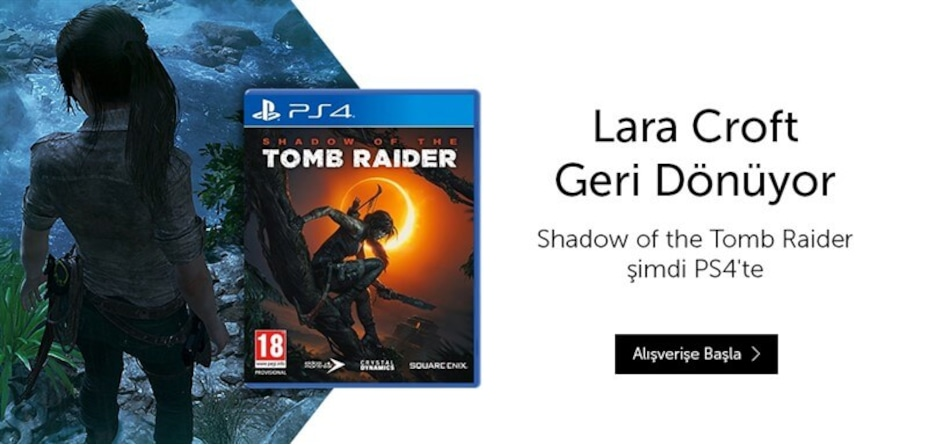 SHADOW OF TOMB RAİDER 2018