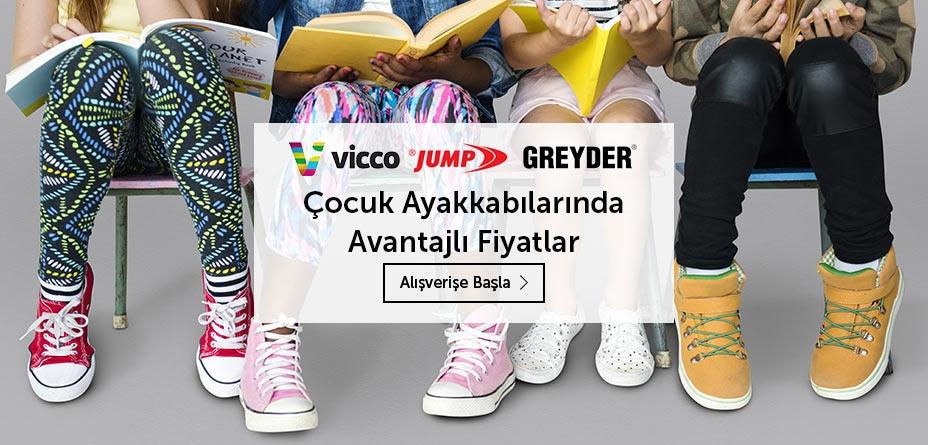 çocuk ayakkabı bebek vicco jump