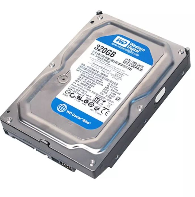 WD WD3200AAJS 320 GB 3.5 HDD