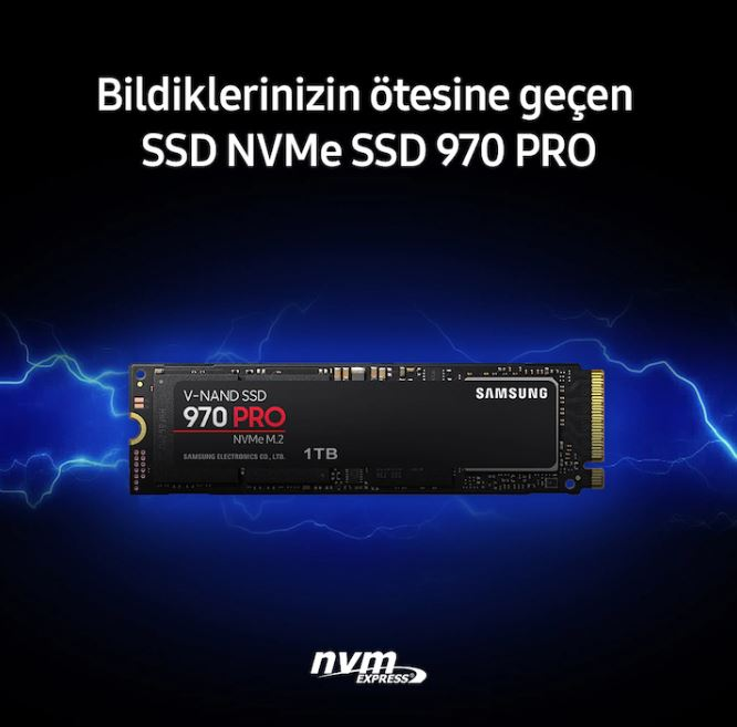 Samsung 970 Pro MZ-V7P1T0BW 1 TB M.2 SSD