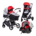 Chipolino İkiz Bebek Arabası Eğlenceyi İkiye Katlar