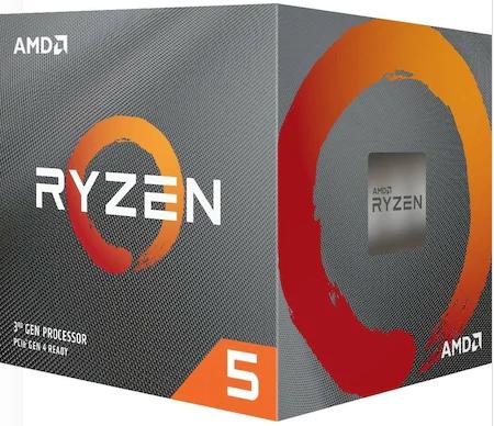 AMD Ryzen 5 3600 3.6 GHz AM4 35 MB Cache 65 W İşlemci Yüksek İşlemci Hızı