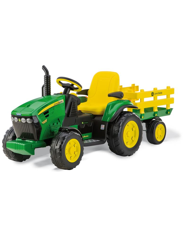 Peg Perego John Deere Ground Force Akülü Traktör