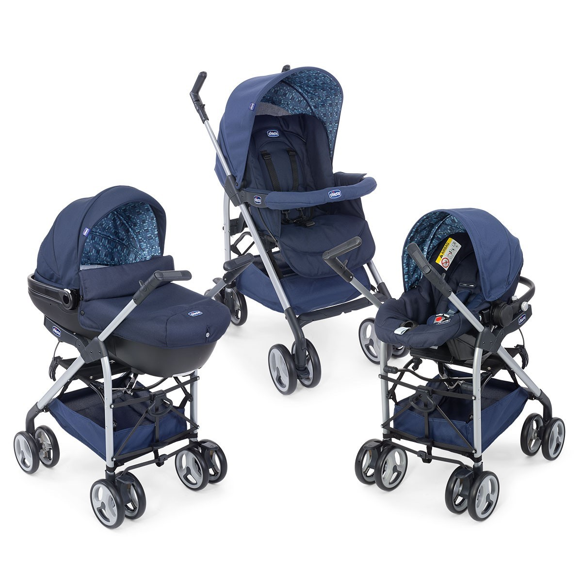 Chicco Trio Sprint Travel Sistem Bebek Arabası