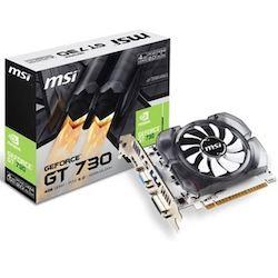 Hızlı Oyun Deneyimleri için MSI NVIDIA GeForce GT 730 Ekran Kartı