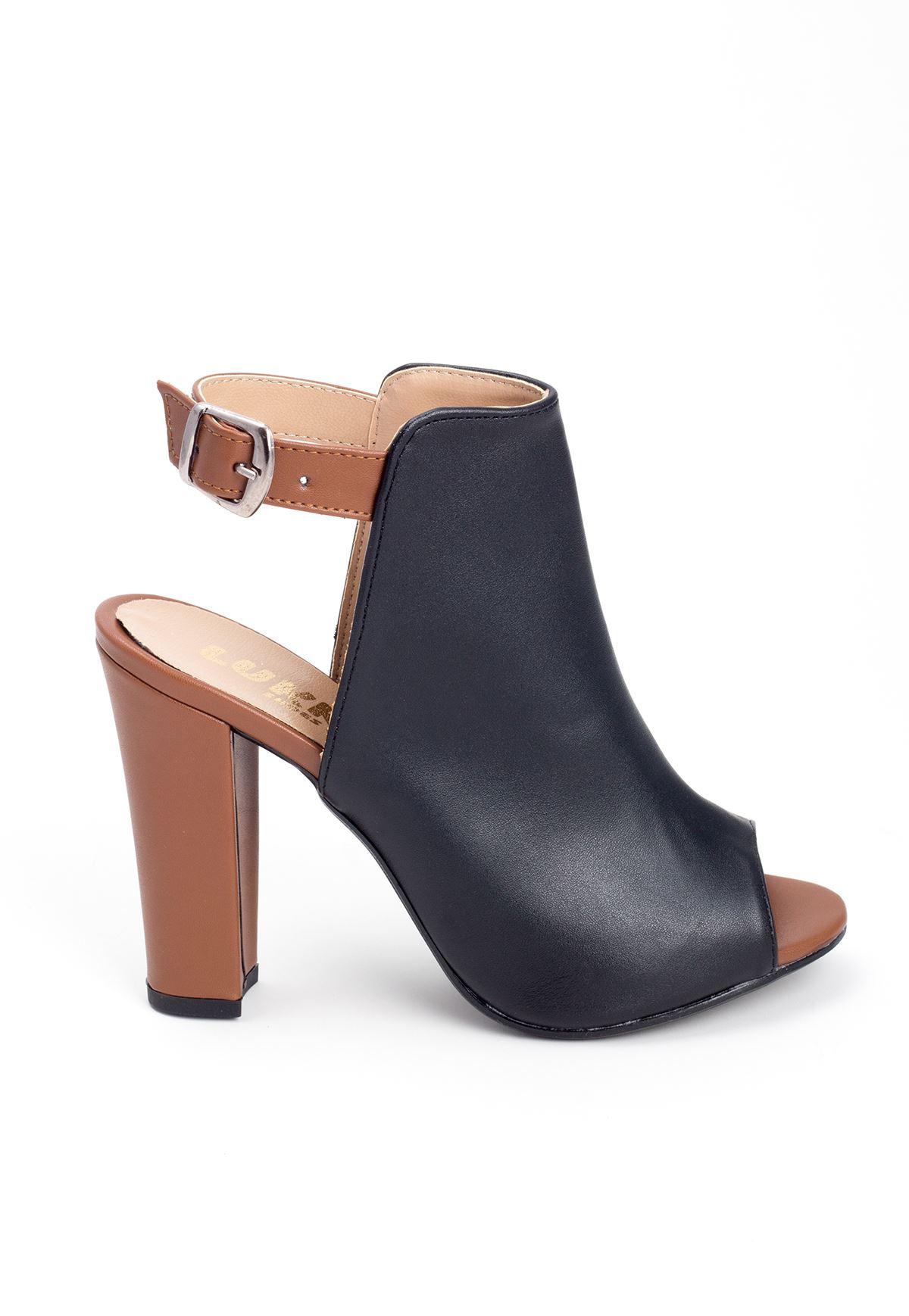 Mrt Siyah Bayan Topuklu Ayakkabı
