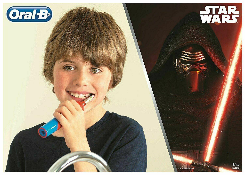 Oral-B D12 Stages Power Star Wars Elektrikli Diş Fırçası +3