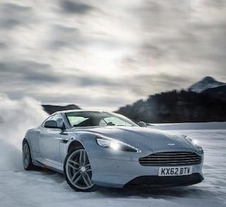 Supercar Buz Sürüşü