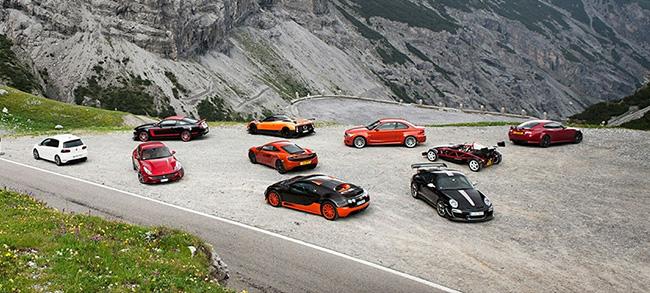 Top Gear Stelvio Geçidi Sürüş Deneyimi