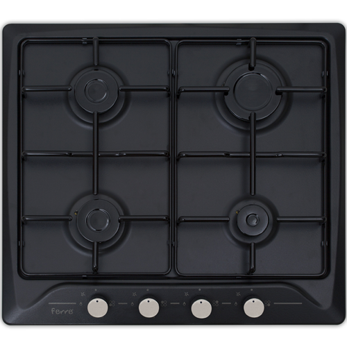 Ferre 640 Ce Siyah Ankastre Ocak