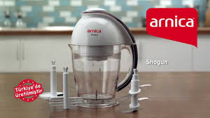 Arnica Shogun 4 Bıçaklı Mini Robot