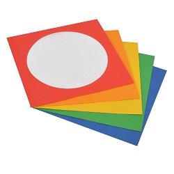 Renkli CD Zarfları